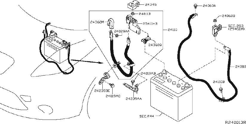 Nissan Leaf Engine Wiring Harness  Auto  Light  Led